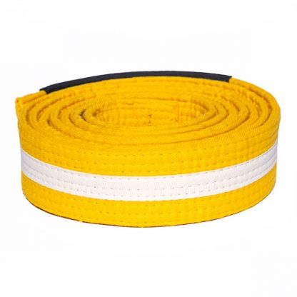 CAZA Yellow-White Belt