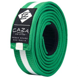 CAZA BJJ Green-White Belt