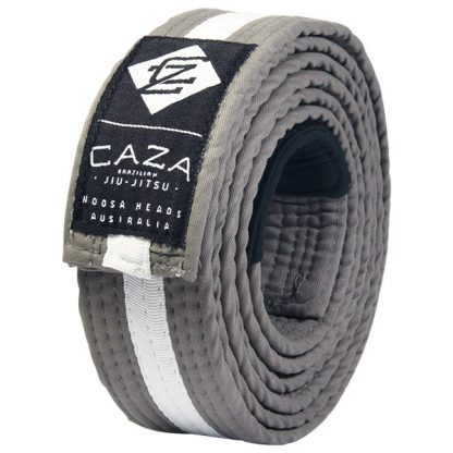 CAZA BJJ Grey-White Belt