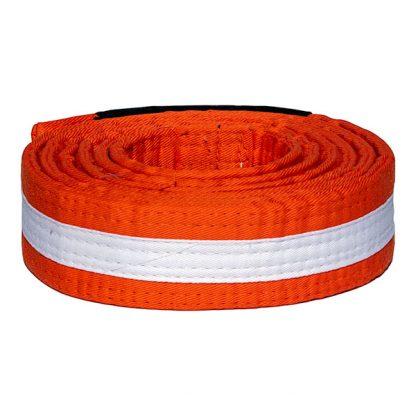 CAZA BJJ Orange-White Belt