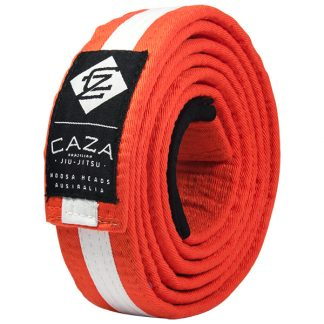 CAZA BJJ Orange-White Belt