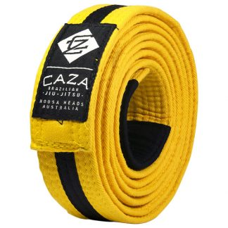 CAZA Yellow-Black Belt