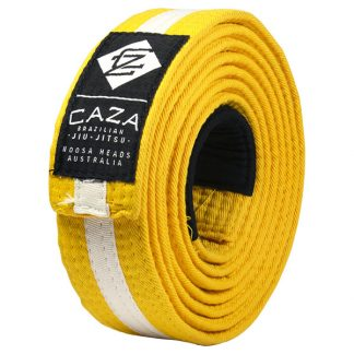 CAZA Yellow-White Belt