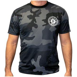CAZA BJJ Black Camo Quick-Dry T-Shirt