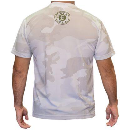 CAZA BJJ White Camo Quick-Dry T-Shirt