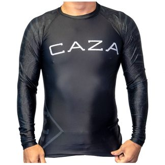 CAZA BJJ Adults Black Rashie (Long Sleeve)