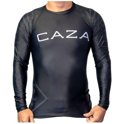 CAZA BJJ Adults Black Rashie (Long Sleeve)