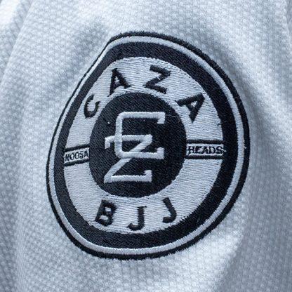 CAZA BJJ Limited Edition White Gi Badge