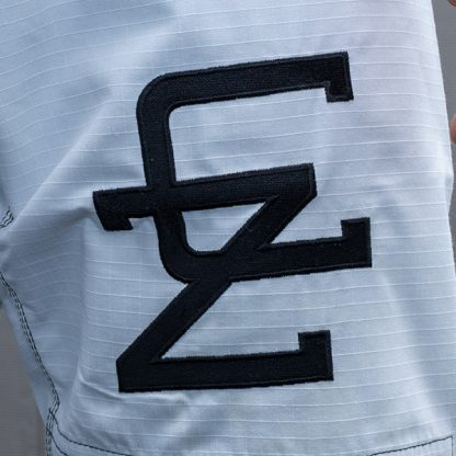 CAZA BJJ White Gi Thigh Badge